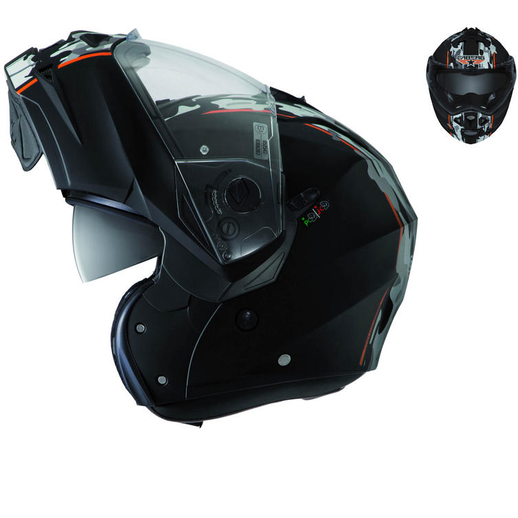 Image of Caberg Duke Commander Flip Up Motorcycle Helmet
