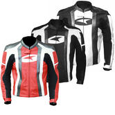 Axo MG1 Leather Motorcycle Jacket