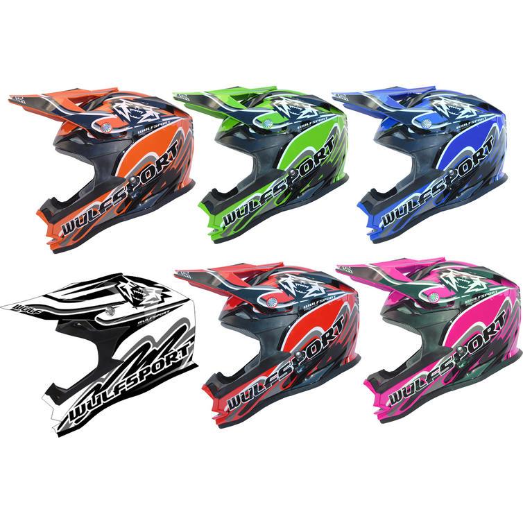 Wulf Cub K2 Motocross Helmet