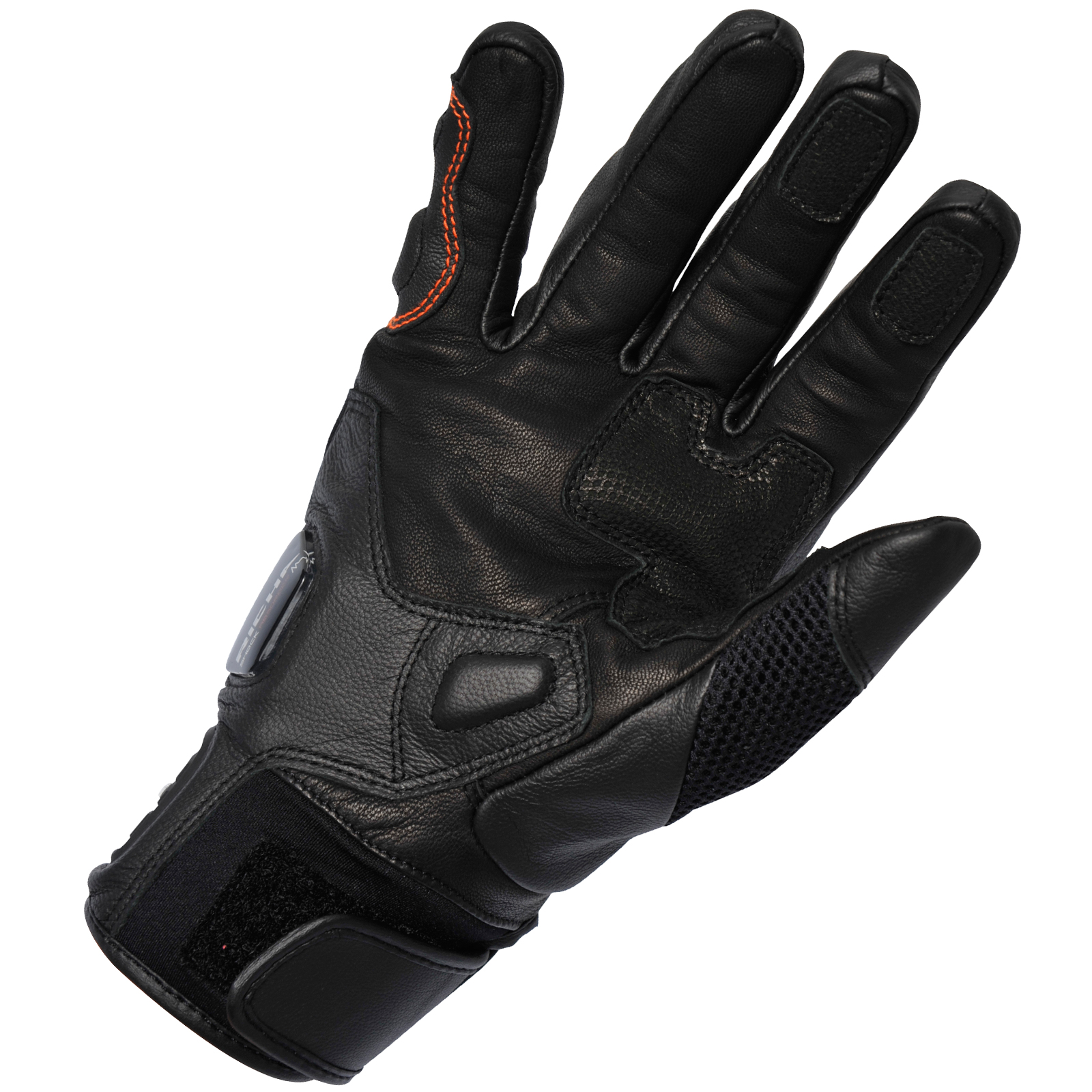 Motorcycle gloves mesh - Richa Blast Motorcycle Gloves Leather Air Strech Mesh