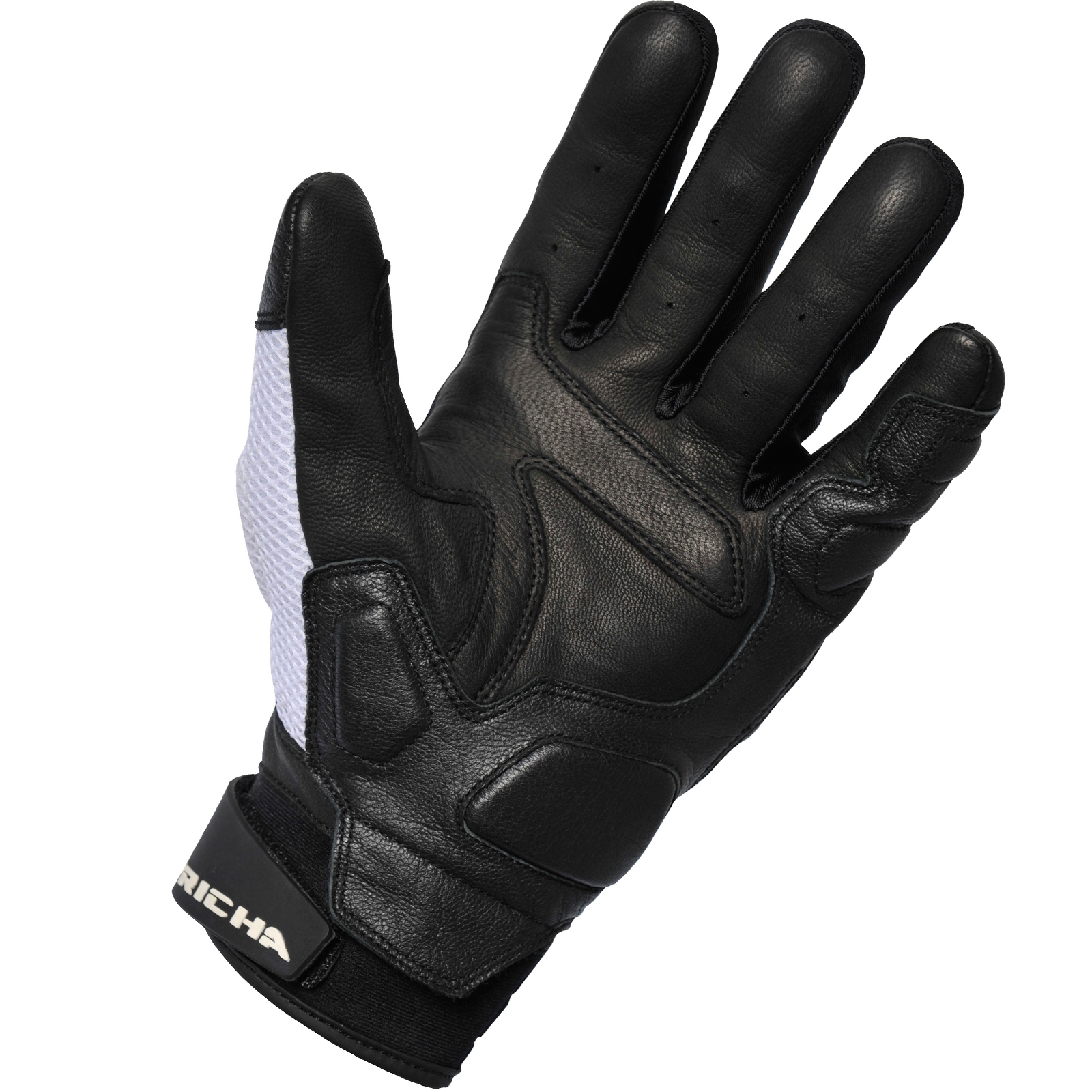 Motorcycle gloves mesh - Richa Torsion Motorcycle Gloves Leather Air Guard Mesh