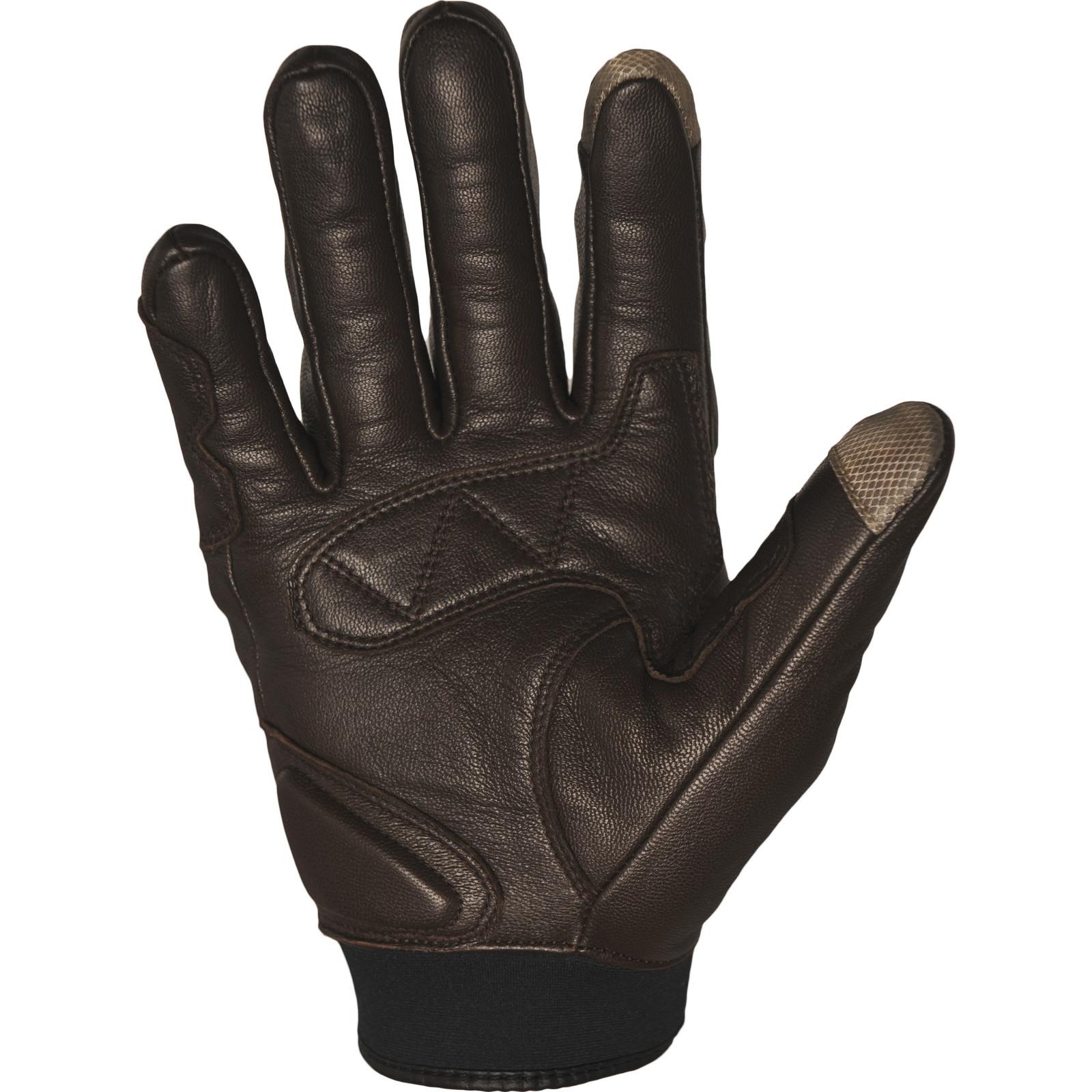 Richa Cordoba Motorcycle Gloves Leather Textile Vintage Ce