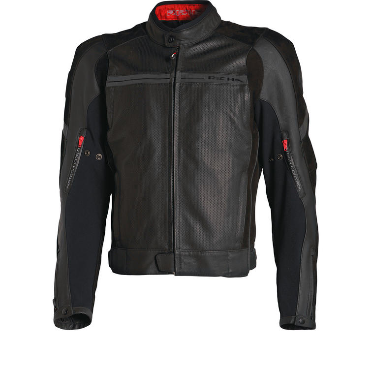 Richa TG2 Leather Motorcycle Jacket
