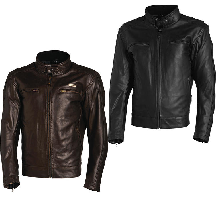 Richa Boston Leather Motorcycle Jacket