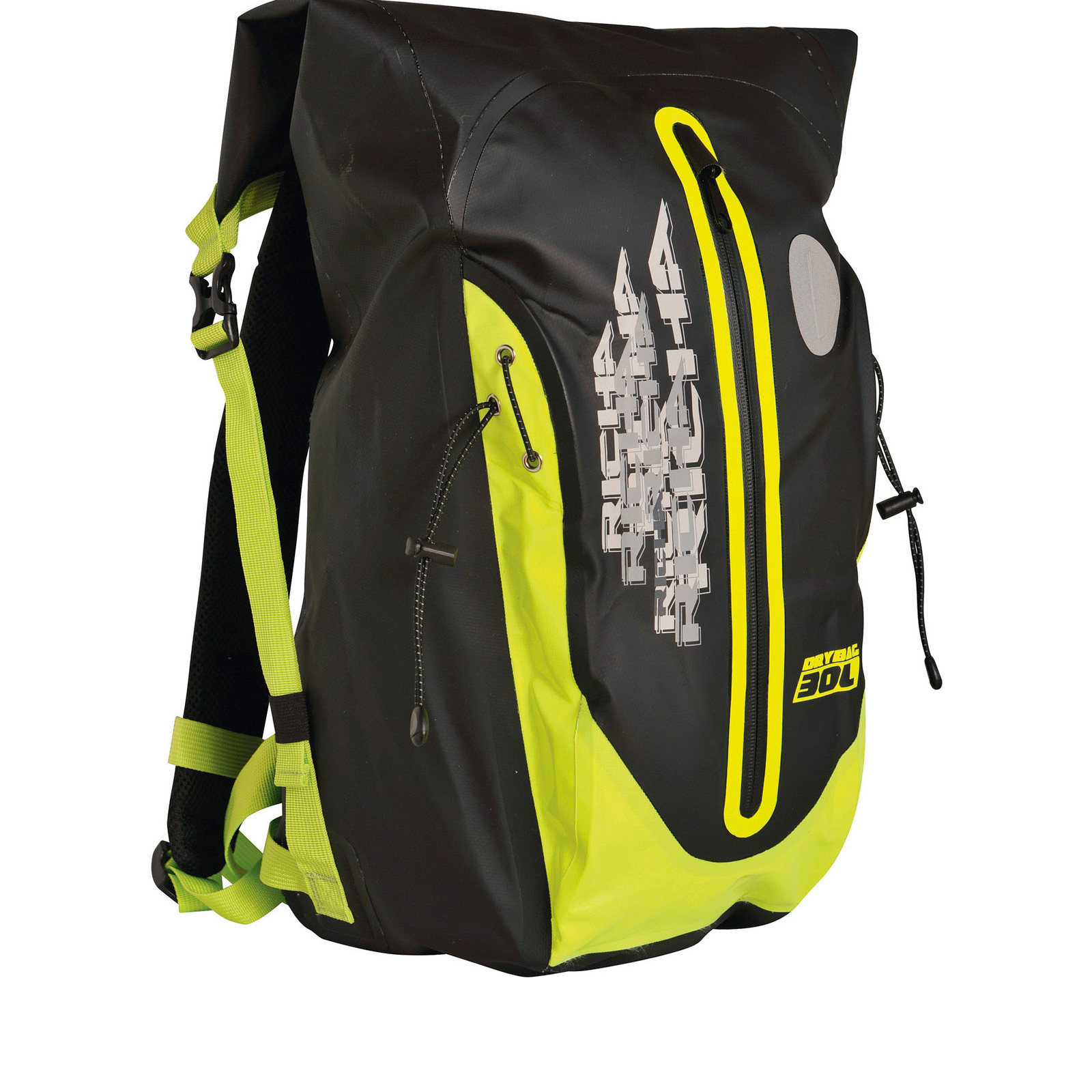 Richa H2O Motorbike Backpack Bike Waterproof Fluorescent Yellow ...