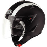 Airoh JT Bi Colour Open Face Motorcycle Helmet