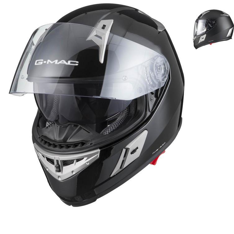 G-Mac Flight Full Face Motorcycle Helmet