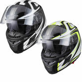 G-Mac Flight Contour Full Face Motorcycle Helmet