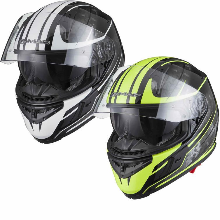 G-Mac Flight Vector Full Face Motorcycle Helmet