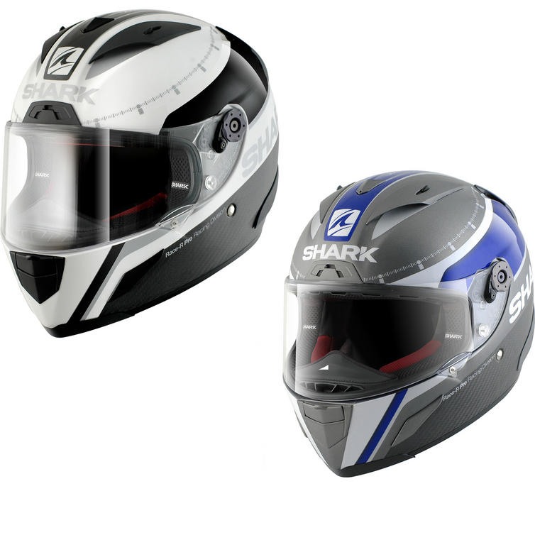 Shark Race-R Pro Carbon Dual Touch Motorcycle Helmet