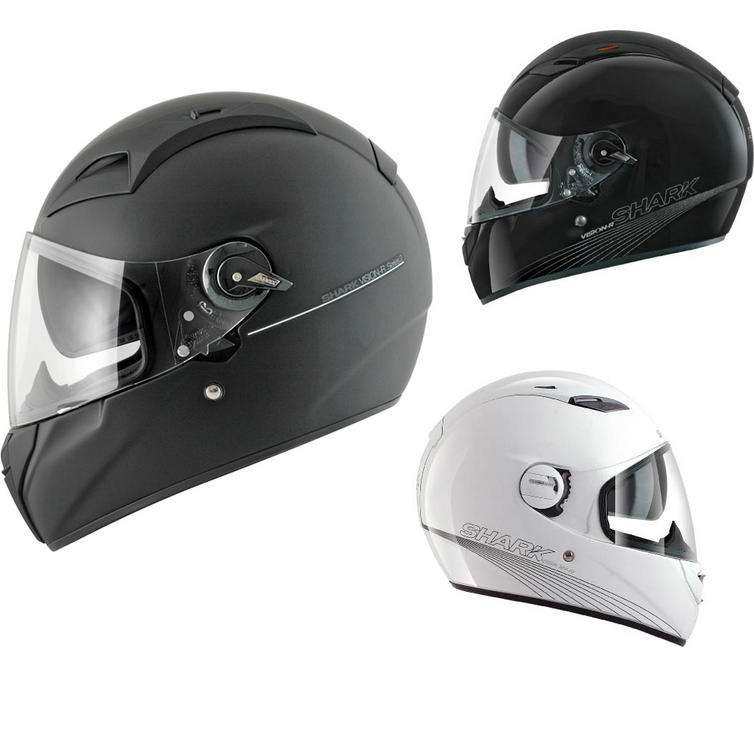 Shark Vision-R Series 2 ST Blank Motorcycle Helmet