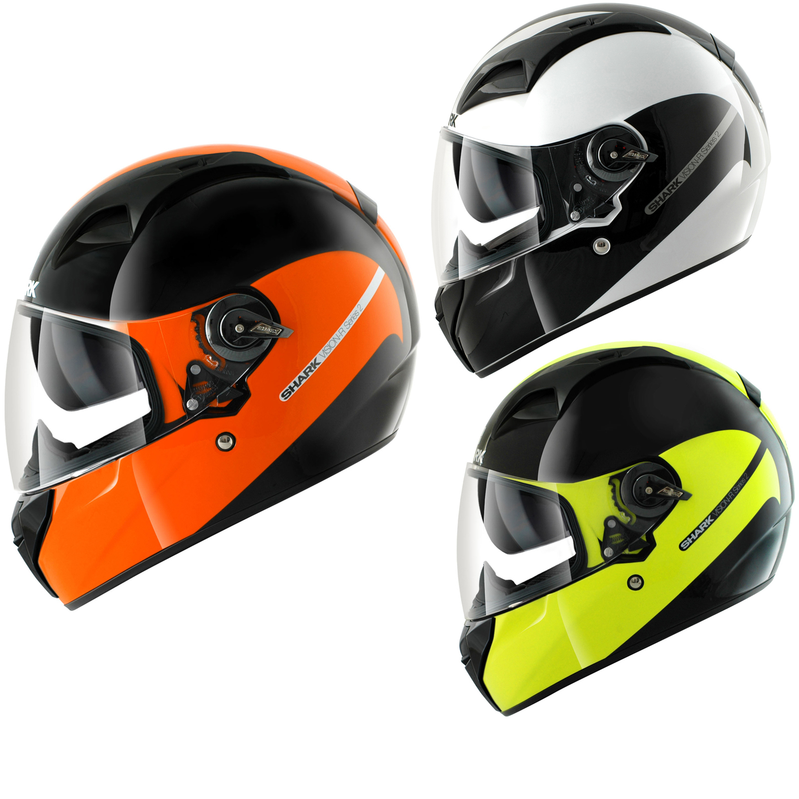 shark vision r series 2 st inko motorcycle helmet full face helmets. Black Bedroom Furniture Sets. Home Design Ideas
