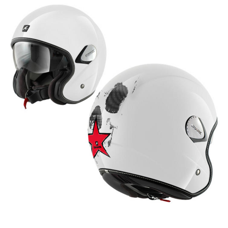 Shark Heritage Skull Motorcycle Helmet