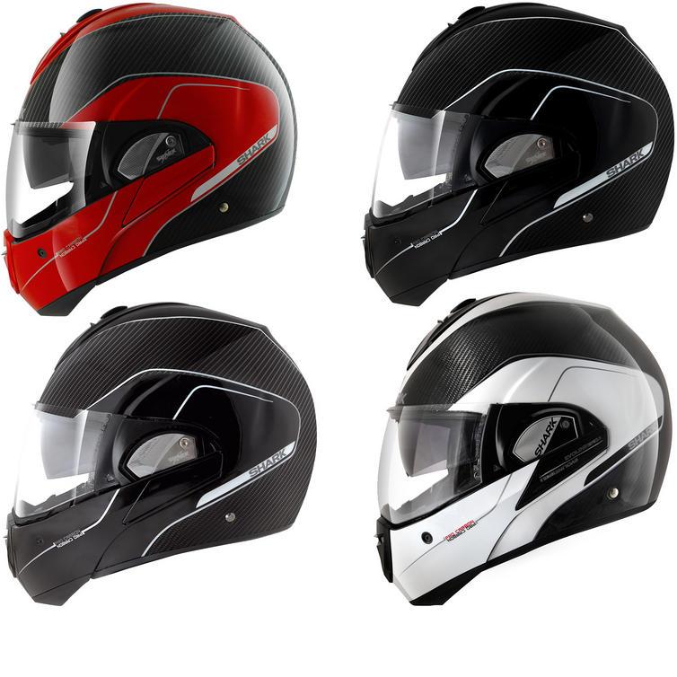 Shark Evoline Pro Carbon Flip Front Motorcycle Helmet