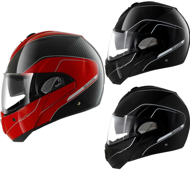 shark evoline pro carbon motorcycle helmet new arrivals. Black Bedroom Furniture Sets. Home Design Ideas