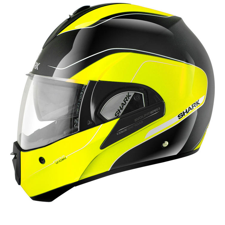 Shark Evoline S3 Arona Hi-Visibility Motorcycle Helmet