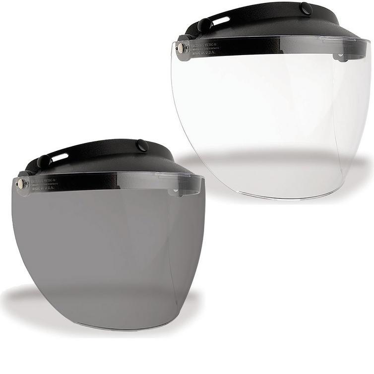 Bell Custom 500 MXL 3-Snap Flip Visor