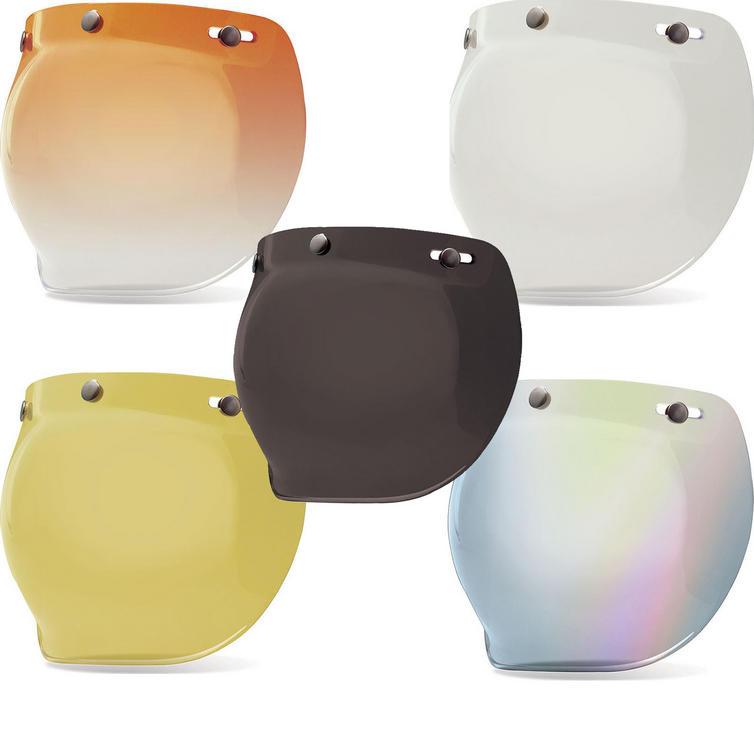 Bell Custom 500 3-Snap Bubble Visor