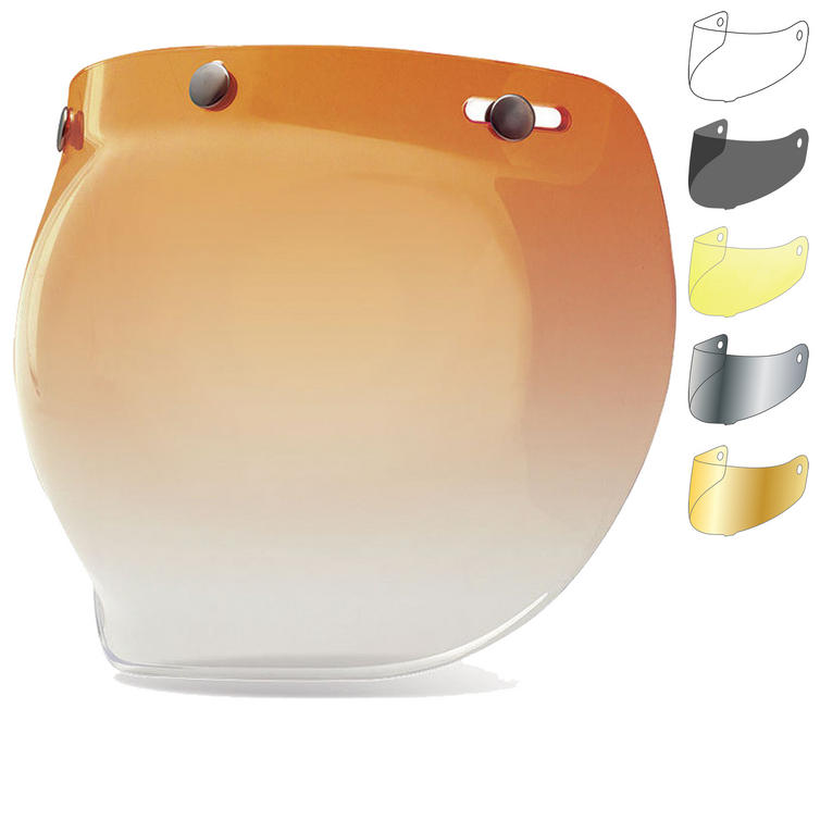 Bell Custom 500 3-Snap Bubble Visor
