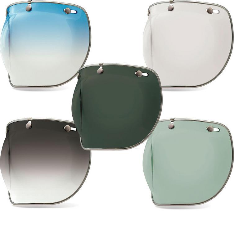 Bell Custom 500 3-Snap Bubble Deluxe Visor