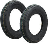 "Yuanxing 10"" Scooter Tyre (3.50-10) 50J Yellow Green"