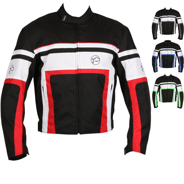 Buffalo Retro Textile Motorcycle Jacket