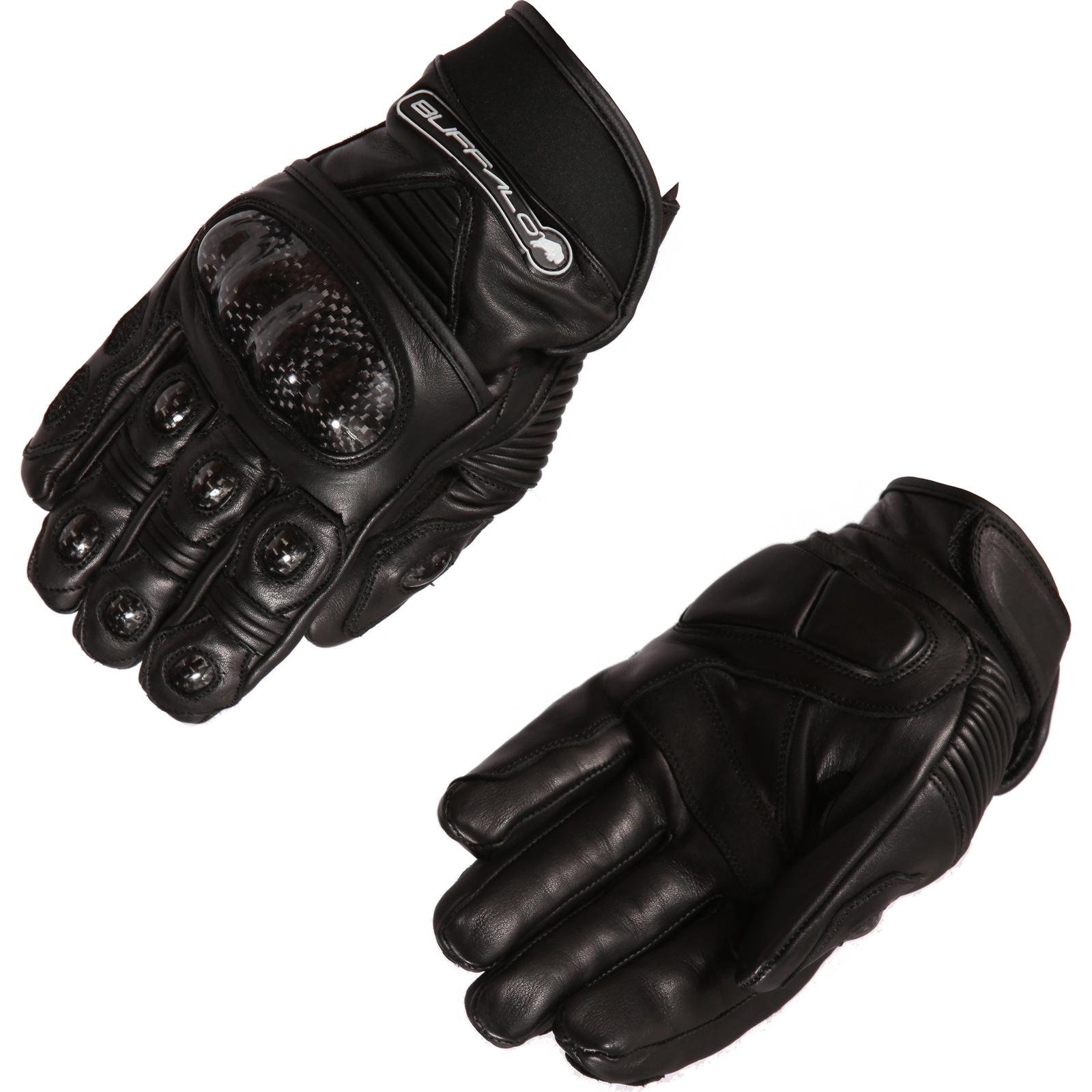Motorcycle knuckle gloves - Buffalo Corto Motorcycle Gloves Short Bike Street Urban