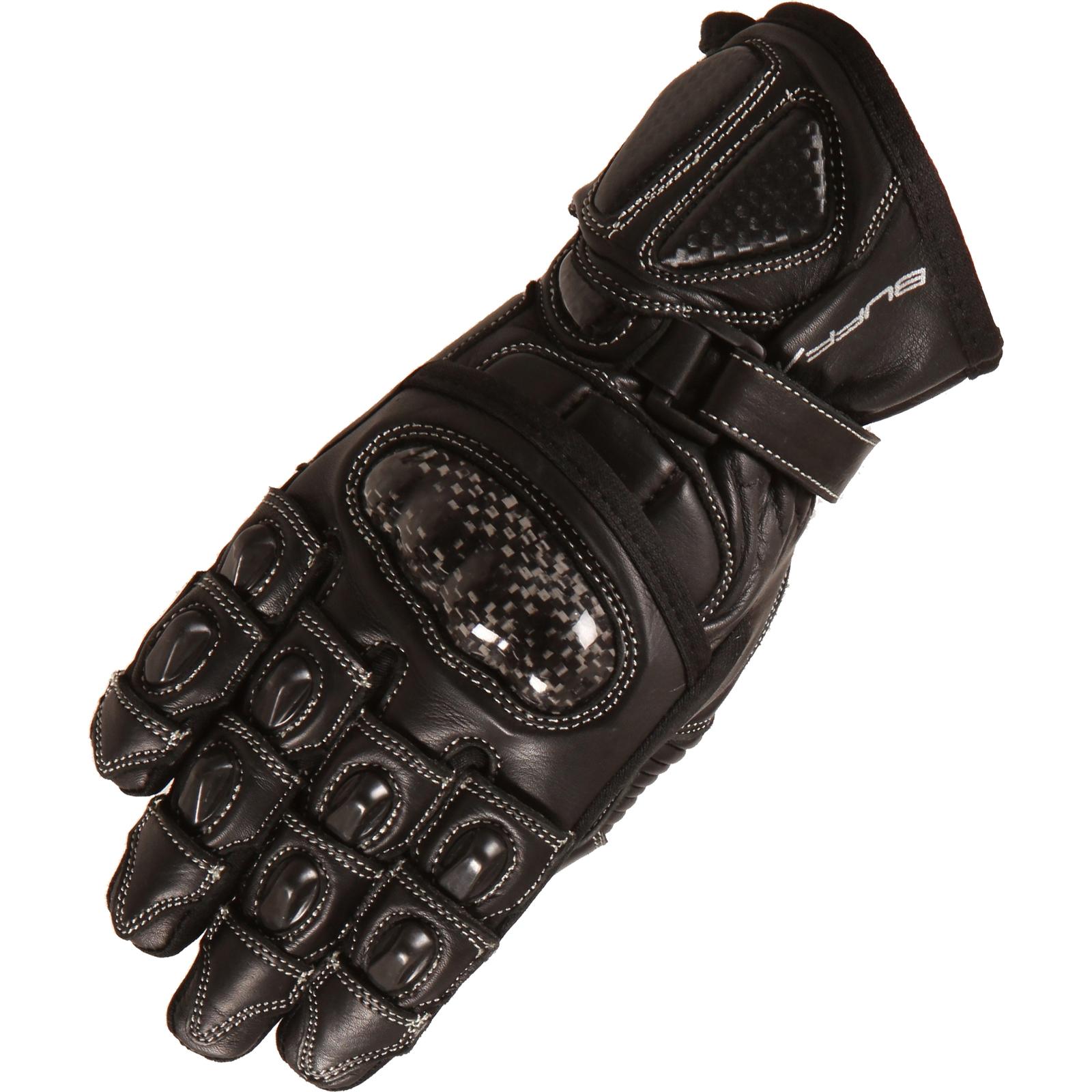 Motorcycle knuckle gloves - Buffalo Bambino Juventud Guantes De Moto Cuero Junior