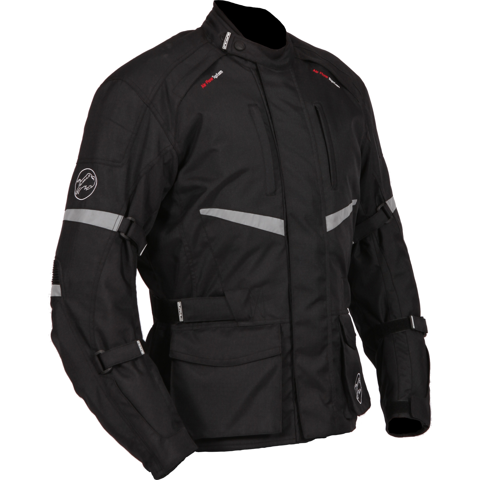 Buffalo Alpine Textile Ladies Motorcycle Jacket Womens Waterproof Adventure Bike Preview 2