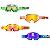 Oneal B-Flex ETR Motocross Goggles Radium