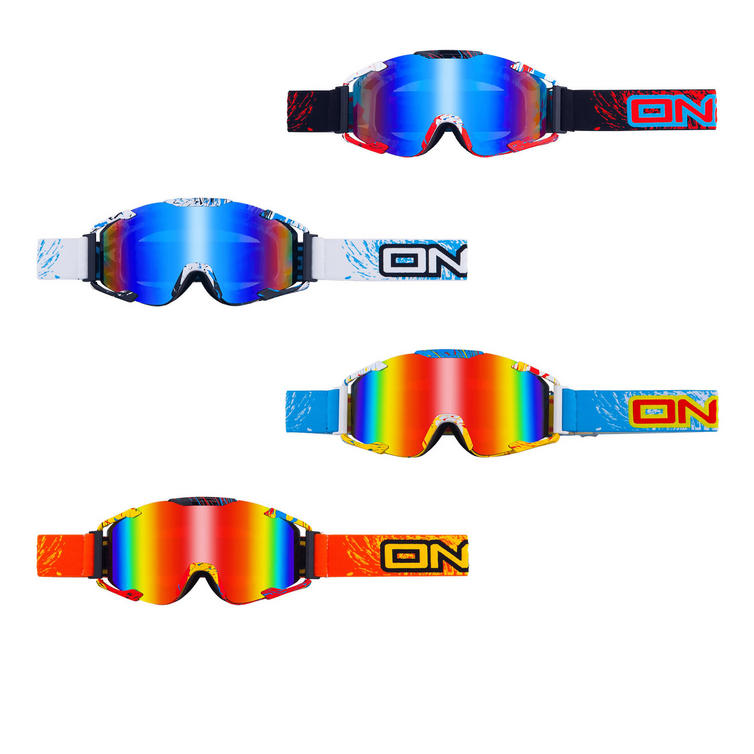 Oneal B2 MX Goggles Spray Radium