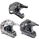 View Item Duchinni D200 Bonez Motocross Helmet