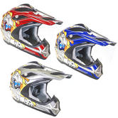 View Item Duchinni D300 Skull Junior Motocross Helmet