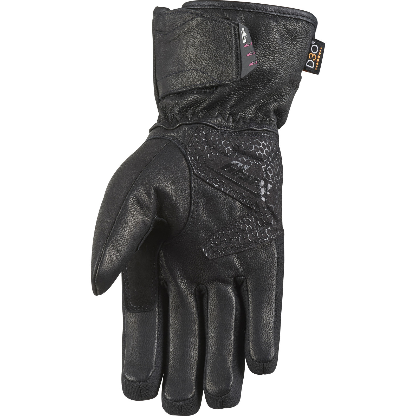 Furygan Land Lady D3O Evo Motorcycle Gloves Womens WP Leather Ladies Thinsulate