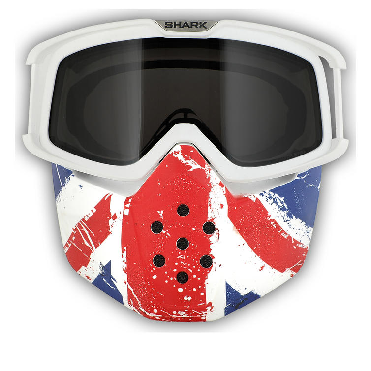 Shark Raw Union Jack Goggle and Mask Kit