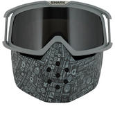 Shark Drak and Raw All Over Goggle and Mask Kit