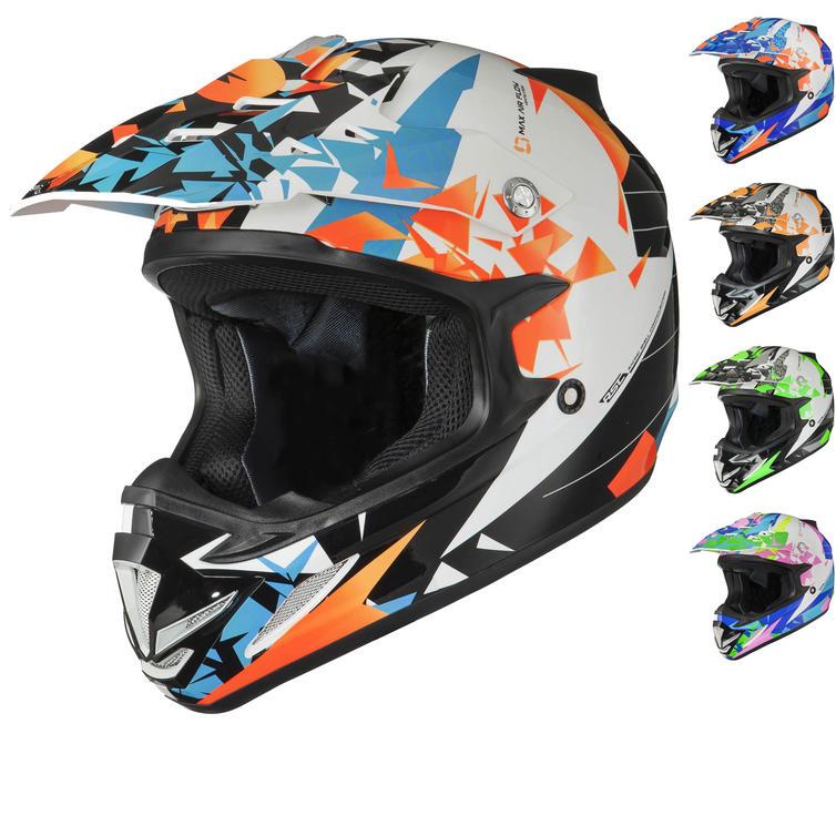 Shox MX-1 Paradox Motocross Helmet