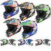 Shox MX-1 Paradox Motocross Helmet Thumbnail 2