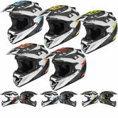 Shox MX-1 Shadow Motocross Helmet