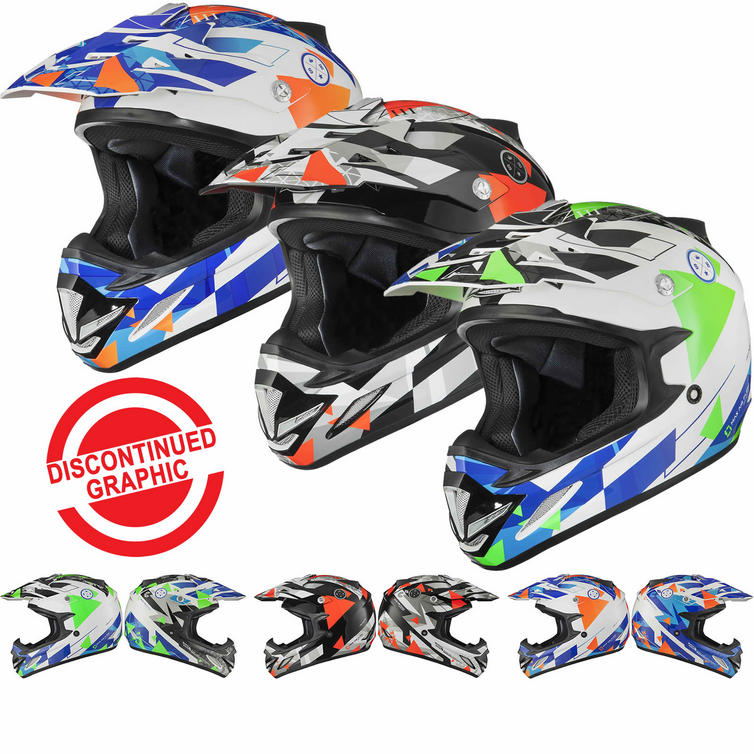 Shox MX-1 Delta Motocross Helmet