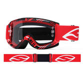 Smith Fuel V.1 Max Motocross Goggles Red Fracture