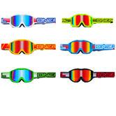 Oneal Blur B1 Flat Radium Motocross Goggles