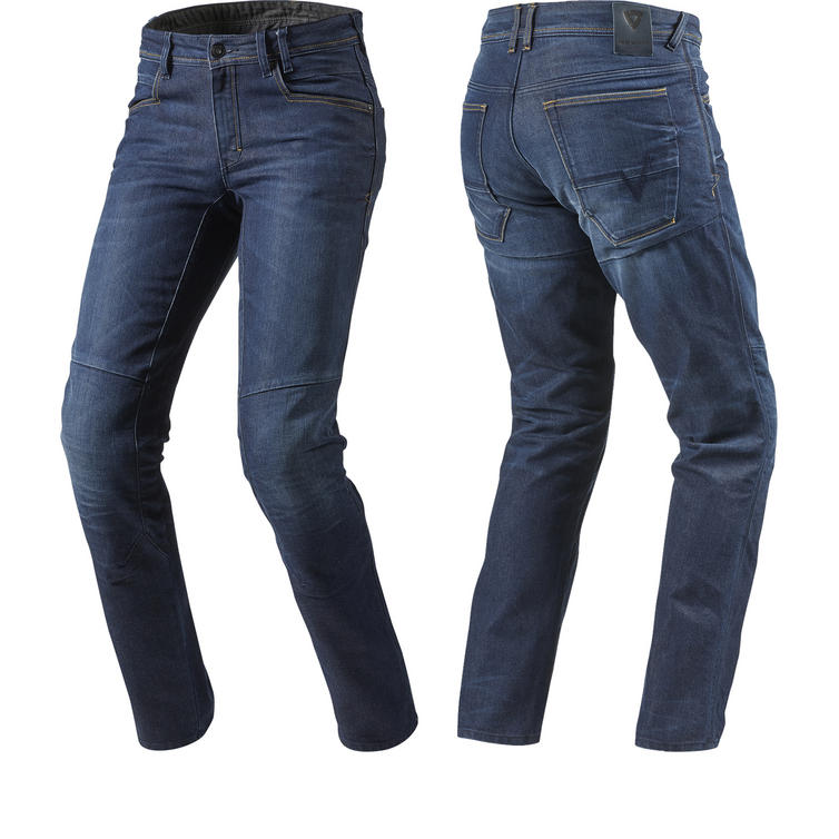 Rev It Seattle Dark Blue Motorcycle Jeans