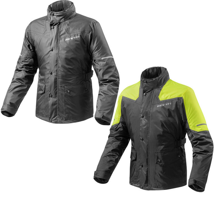 Rev It Nitric 2 H2O Rainwear Motorcycle Over Jacket