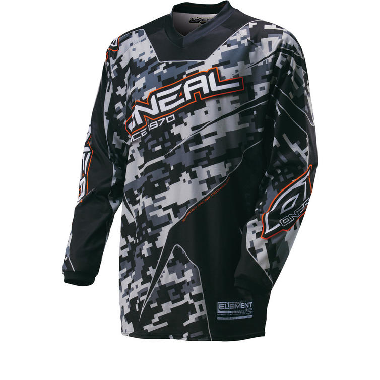 Oneal Element 2016 Digi Camo Motocross Jersey