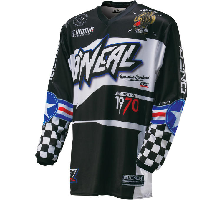Oneal Element 2016 Afterburner Motocross Jersey