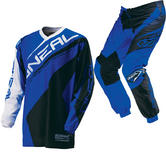Oneal Element 2016 Racewear Black Blue Motocross Kit