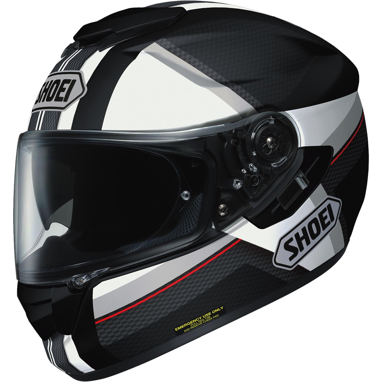shoei gt air exposure grey motorcycle helmet tc 5 full face agu gold dd ring lid ebay. Black Bedroom Furniture Sets. Home Design Ideas