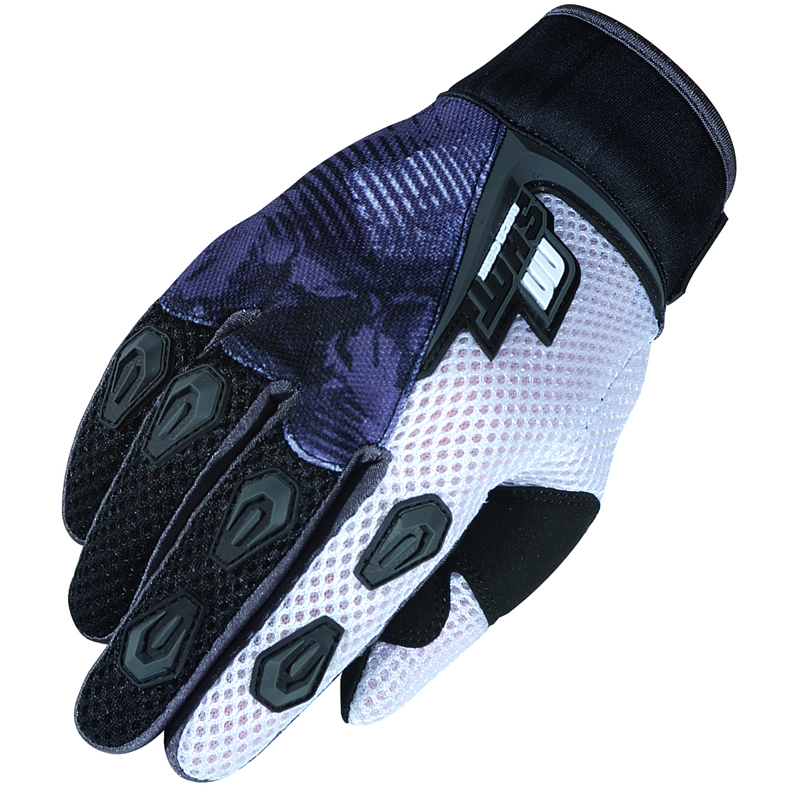 SHOT DEVO ENDURO BMX ATV MX MOTOCROSS GLOVES BLACK 3XL Enlarged Preview