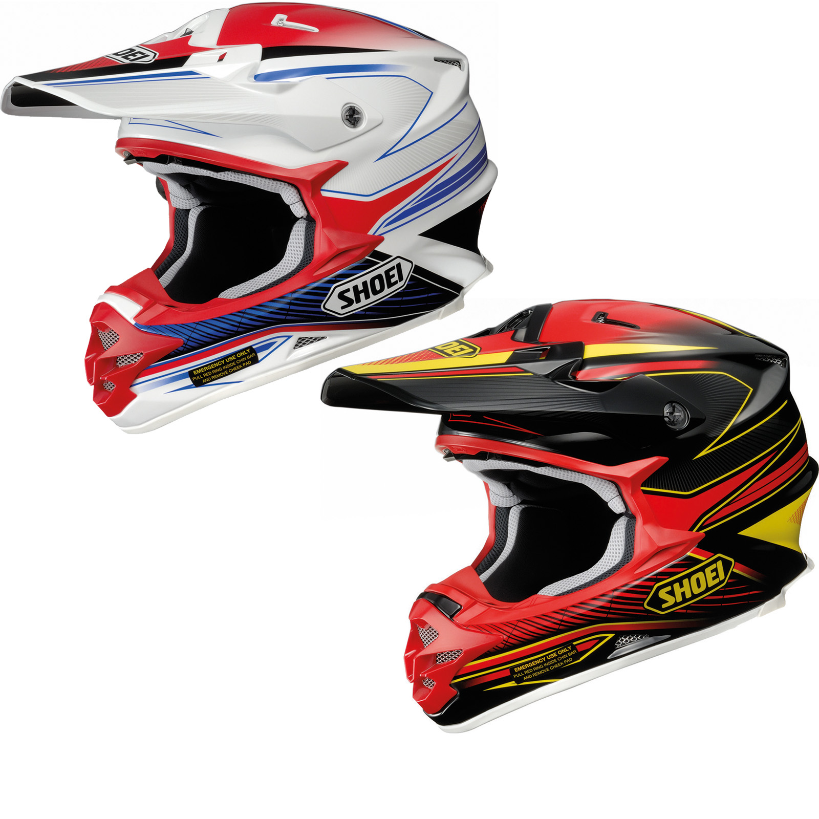 shoei vfx w sear motocross helmet motocross helmets. Black Bedroom Furniture Sets. Home Design Ideas